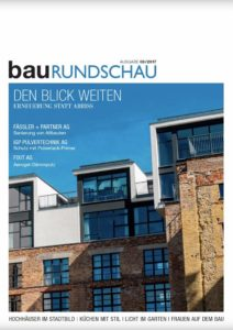 Cover Magazin Baurundschau